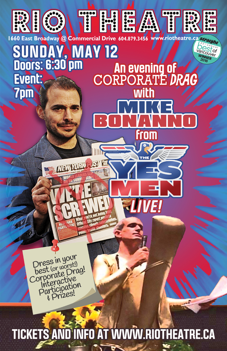 An Evening with Mike Bonanno (The Yes Men) Live at the Rio