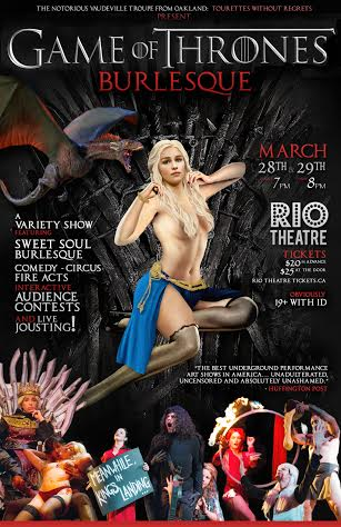 Game of Thrones Burlesque - Live, Dirty and Dangerous!