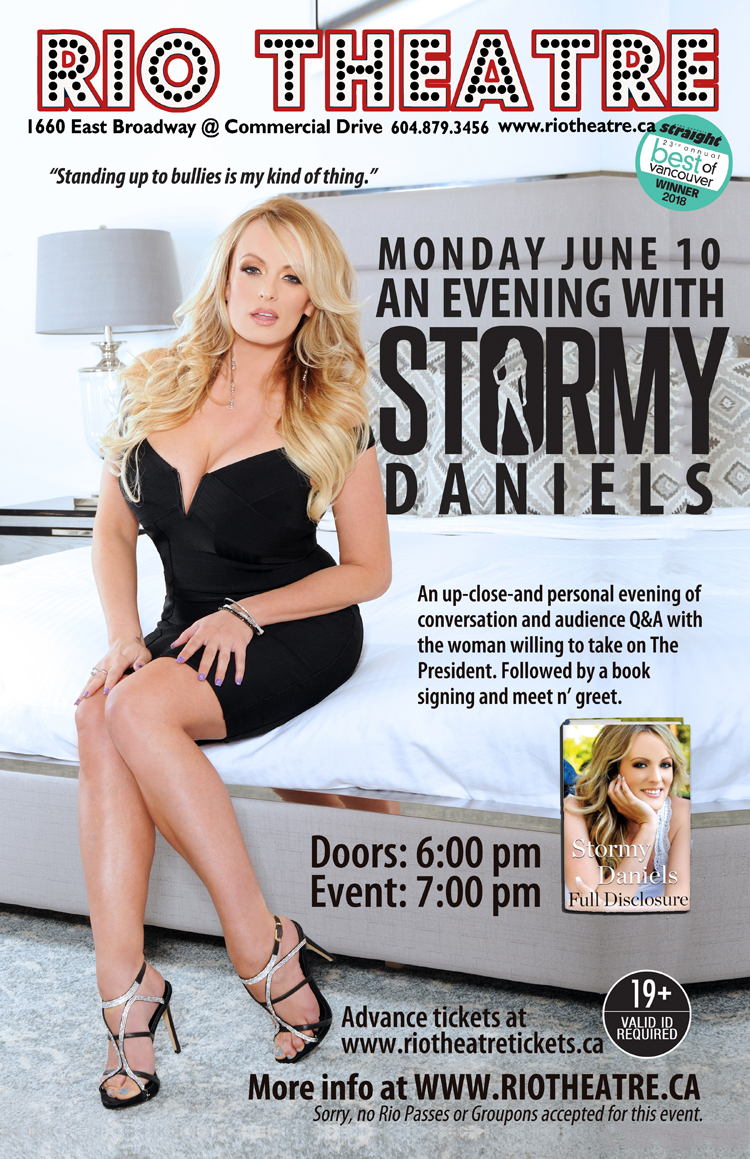 An Evening with Stormy Daniels