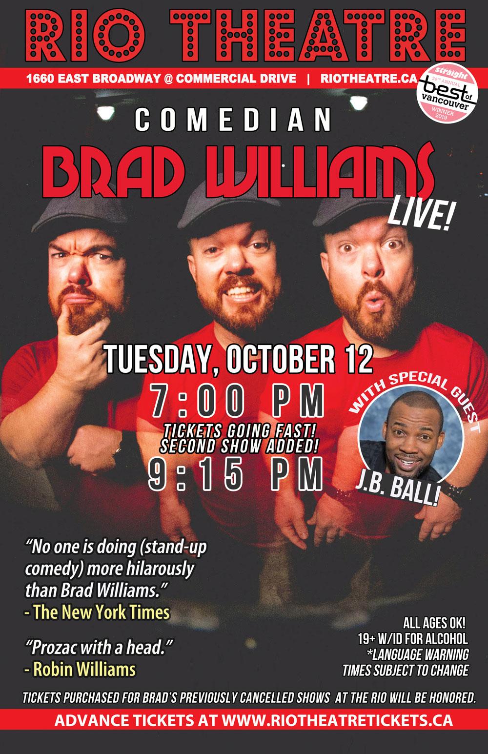 Brad Williams LIVE!