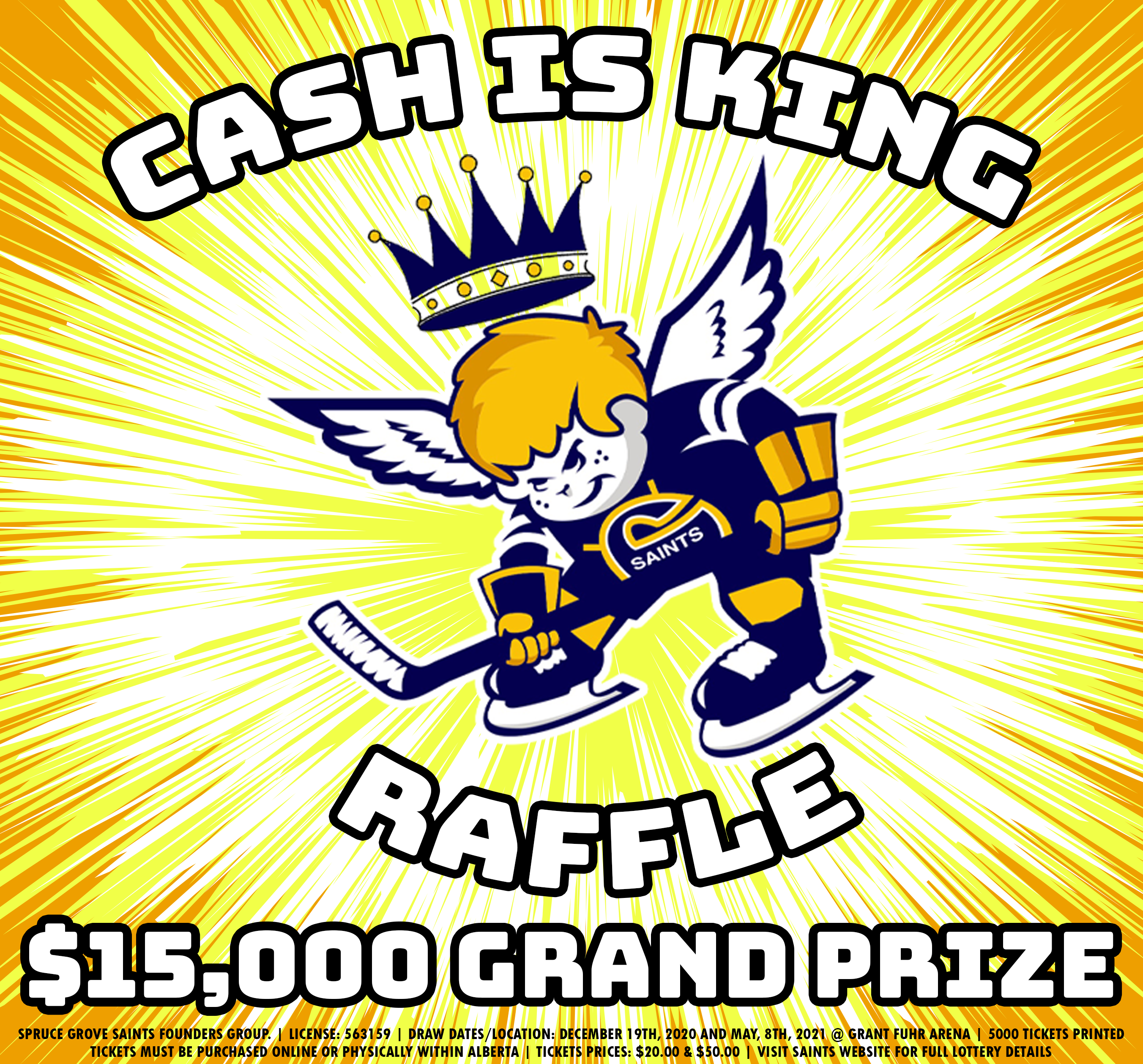 CASH IS KING RAFFLE
