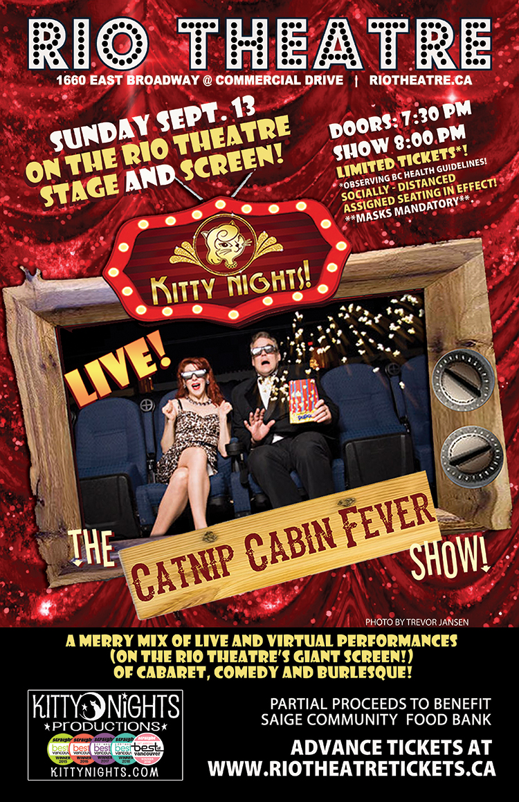 Kitty Nights Presents: The Catnip Cabin Fever Show