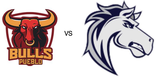 Pueblo Bulls at Ogden Mustangs