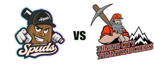 Mining City Tommyknockers vs. Canyon County Spuds