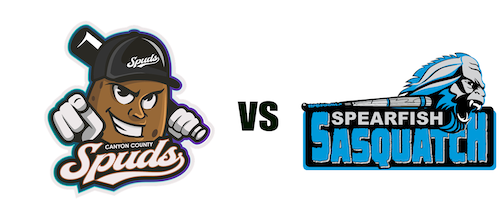 Spearfish Sasquatch vs. Canyon County Spuds