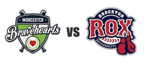 Worcester Bravehearts vs Brockton Rox
