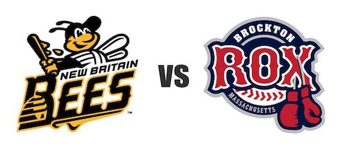 New Britain Bees vs Brockton Rox