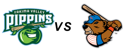 Yakima Valley Pippins vs Port Angeles Lefties
