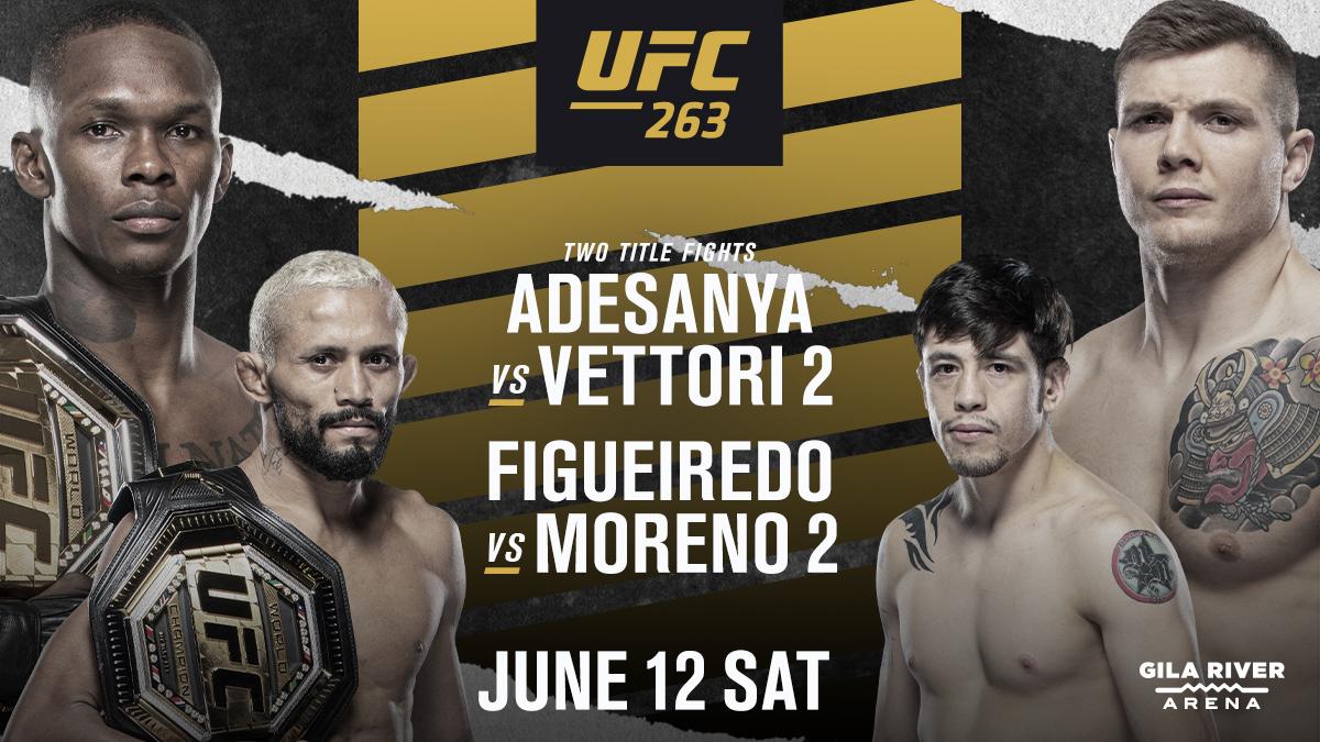 Saturday, June 12 / UFC 263 / 7:00 pm