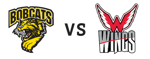 Bismarck Bobcats vs. Aberdeen Wings NAHL Central Division Finals Game 2