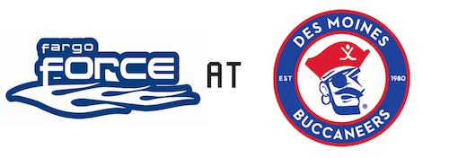 Fargo Force vs Des Moines Buccaneers