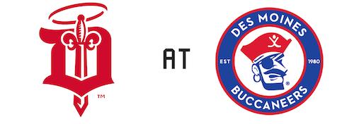 Dubuque Fighting Saints vs Des Moines Buccaneers