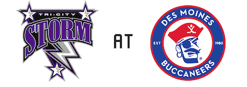 Tri-City Storm vs Des Moines Buccaneers