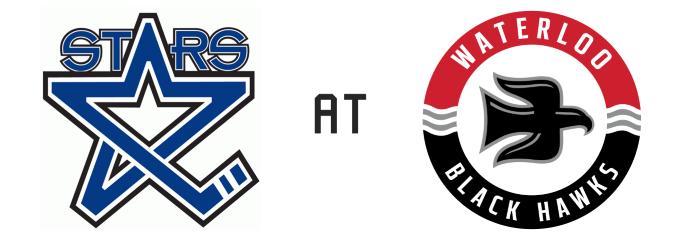 Lincoln Stars vs Waterloo Black Hawks
