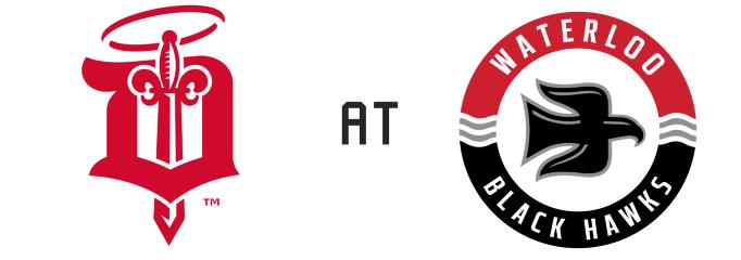 Dubuque Fighting Saints vs Waterloo Black Hawks