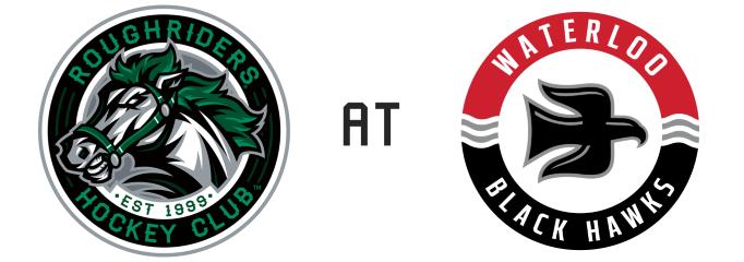 Cedar Rapids RoughRiders vs Waterloo Black Hawks