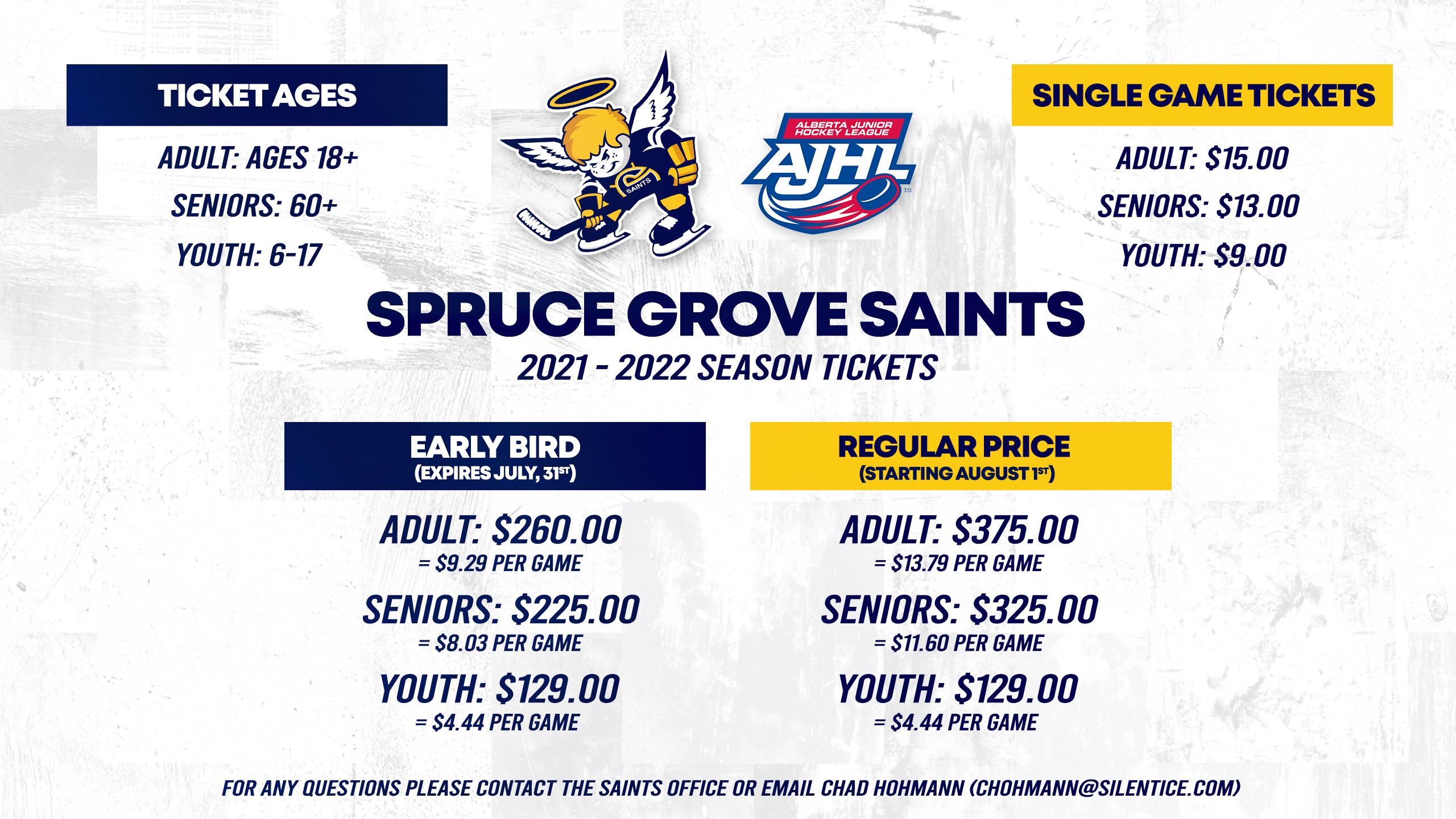 Season Tickets 2021-2022