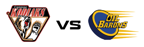 Camrose Kodiaks vs Fort McMurray Oil Barons