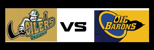 Okotoks Oilers vs Fort McMurray Oil Barons