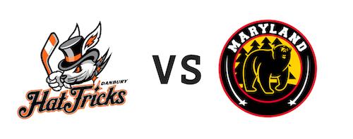 Danbury Jr. Hat Tricks vs Maryland Black Bears