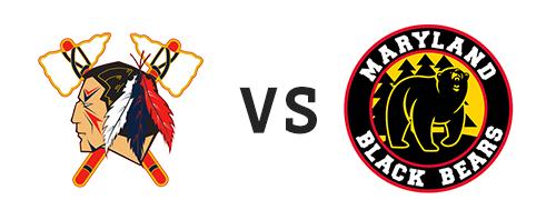 Johnstown Tomahawks vs Maryland Black Bears