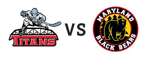 New Jersey Titans vs Maryland Black Bears