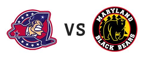 Jamestown Rebels vs Maryland Black Bears