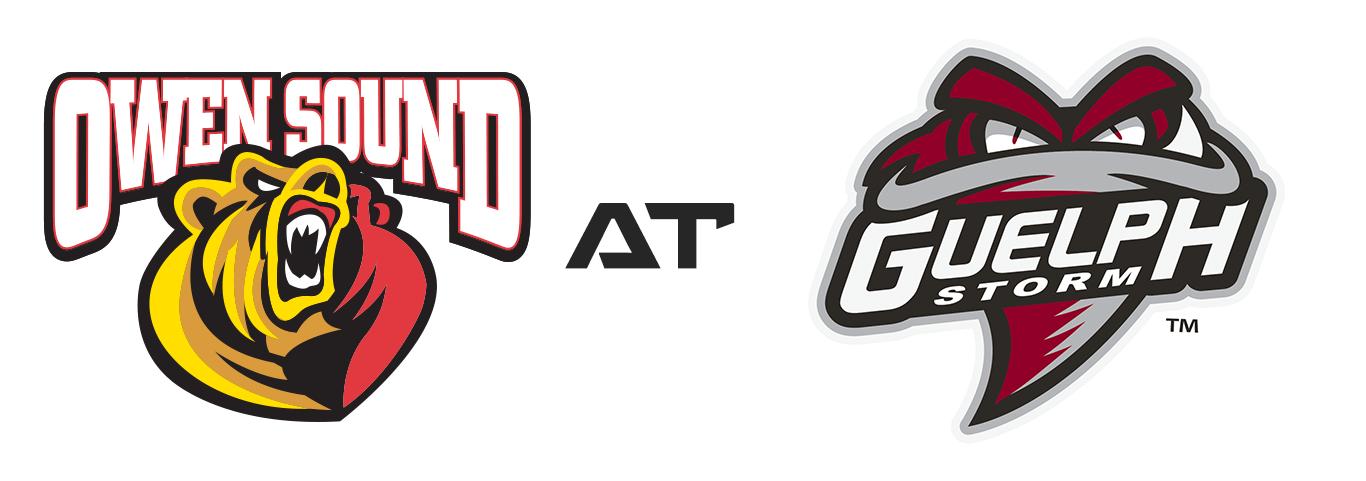 Owen Sound Attack vs Guelph Storm