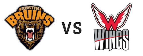 Austin Bruins vs Aberdeen Wings
