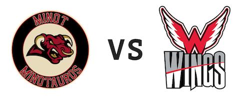 Minot Minotauros vs Aberdeen Wings