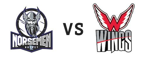 St. Cloud Norsemen vs Aberdeen Wings