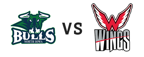 North Iowa Bulls vs Aberdeen Wings