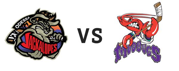 Odessa Jackalopes vs Shreveport Mudbugs