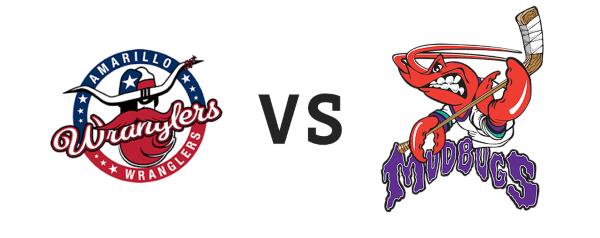 Amarillo Wranglers vs Shreveport Mudbugs