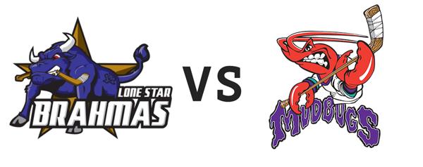 Lone Star Brahmas vs Shreveport Mudbugs