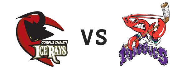Corpus Christi IceRays vs Shreveport Mudbugs
