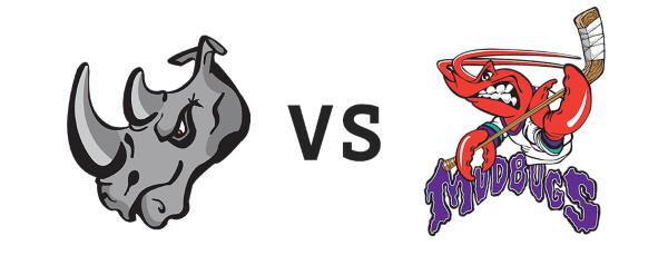 El Paso Rhinos vs Shreveport Mudbugs