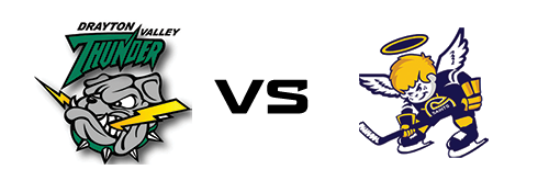 Drayton Valley Thunder vs Spruce Grove Saints