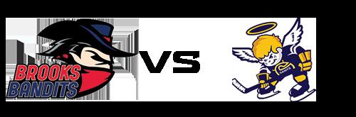 Brooks Bandits vs Spruce Grove Saints