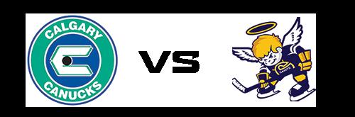 Calgary Canucks vs Spruce Grove Saints