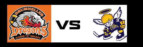 Drumheller Dragons vs Spruce Grove Saints