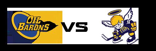 Fort McMurray Oil Barons vs Spruce Grove Saints