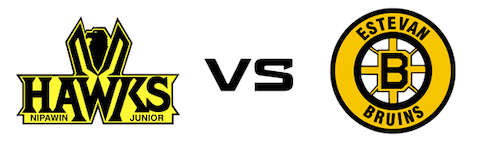 Nipawin Hawks vs Estevan Bruins