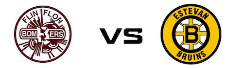 Flin Flon Bombers vs Estevan Bruins