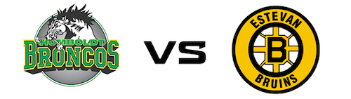 Humboldt Broncos vs Estevan Bruins