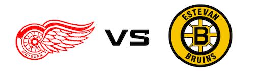 Weyburn Red Wings vs Estevan Bruins