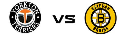 Yorkton Terriers vs Estevan Bruins