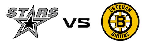 Battlefords Stars vs Estevan Bruins