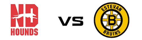 Notre Dame Hounds vs Estevan Bruins