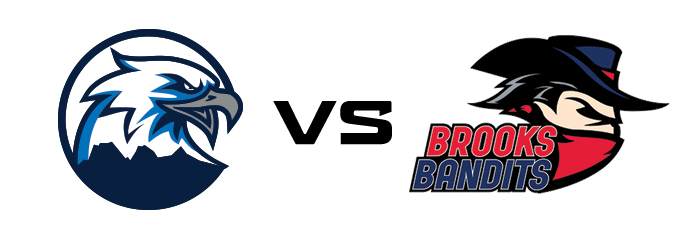 Canmore Eagles vs Brooks Bandits